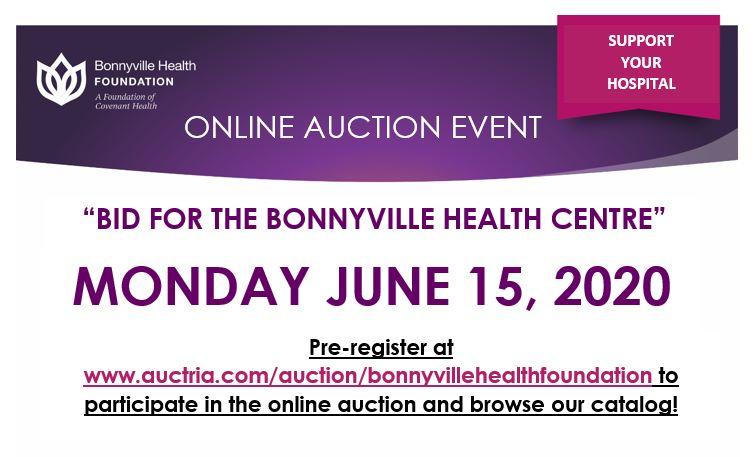 """""""Bid for the Bonnyville Health Centre"""" Online Auction"""