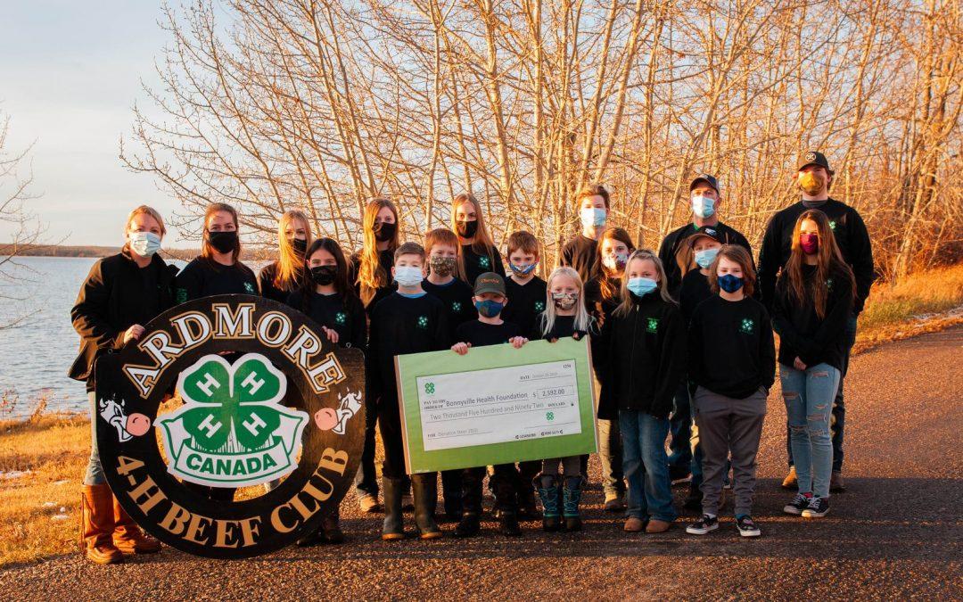Bonnyville 4H – Steer Donation