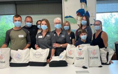 Donor Dollars at Work – Komfort Kits Project